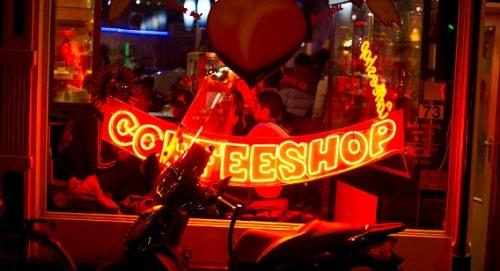 Coffee shop Redlight district